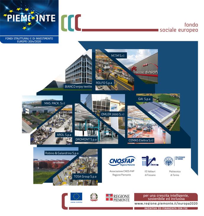 Corso IFTS per Tecnico Trasfertista - Tecniche di manutenzione di impianti civili ed industriali - cnosfap Bra - IIS Vallauri - Politecnico di Torino