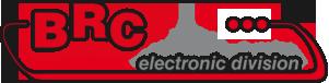 Logo BRC Electronic division - tecnico trasfertista